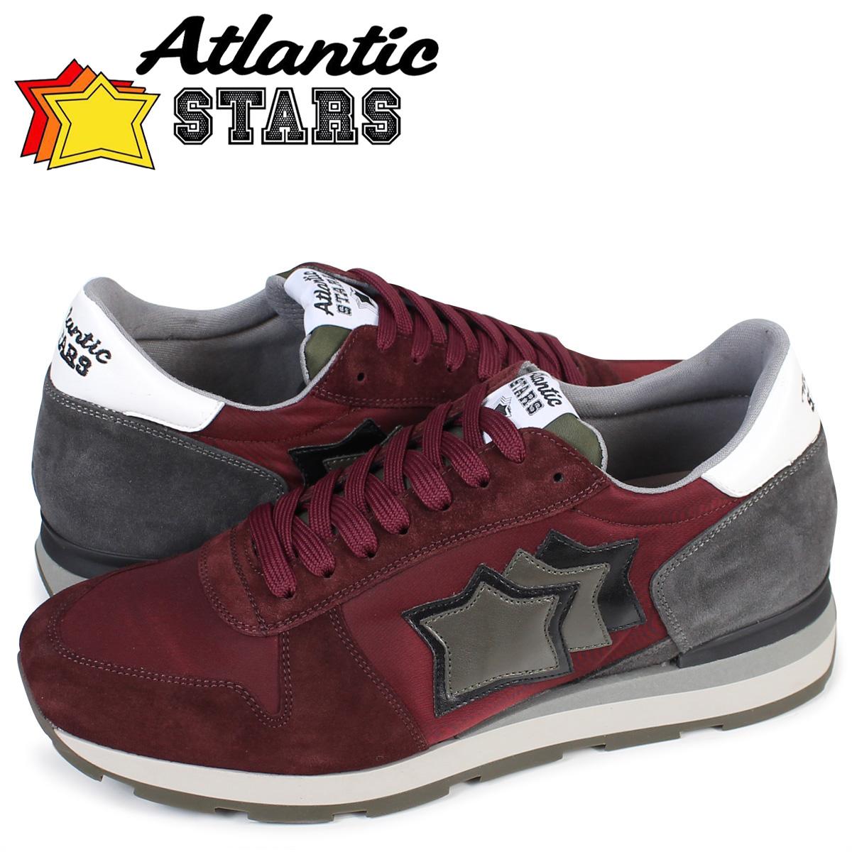 Atlantic STARS メンズ スニーカー アトランティックスターズ シリウス SIRIUS BPB64N 靴 バーガンディー
