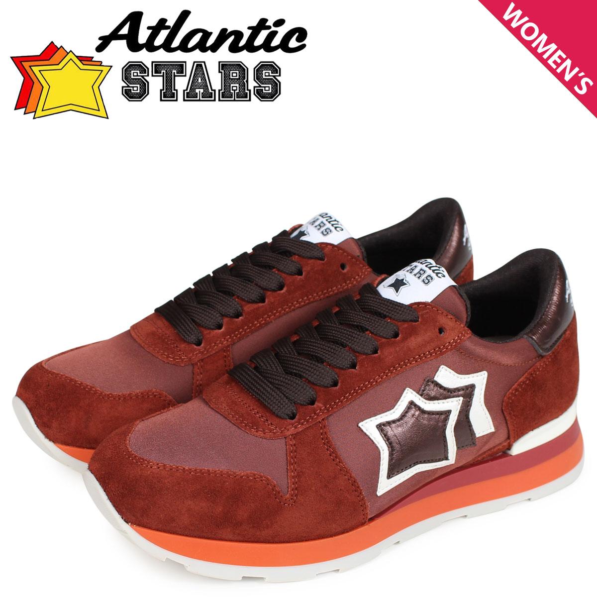 Atlantic STARS レディース スニーカー アトランティックスターズ ベガ VEGA BR-48B ブラウン [10/17 新入荷]