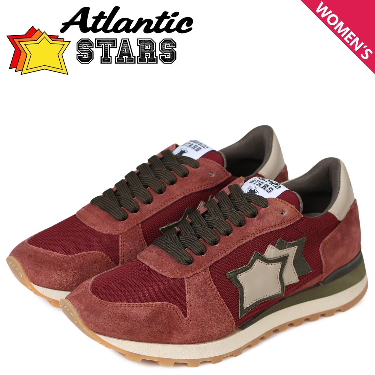 Atlantic STARS レディース スニーカー アトランティックスターズ アレナ ALHENA CB-NY-APSM ワインレッド