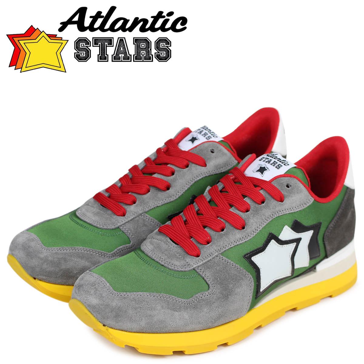 Atlantic STARS アトランティックスターズ メンズ スニーカー Atlantic STARS アンタレス ANTARES CPV-66B グリーン