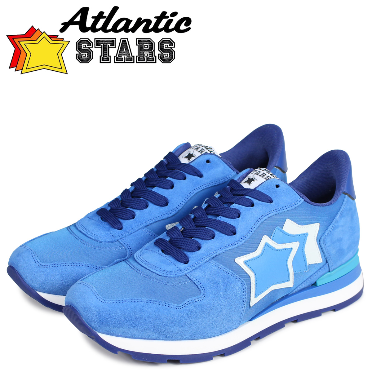 Atlantic STARS アトランティックスターズ アンタレス スニーカー メンズ ANTARES ブルー DBA-18C [4/3 新入荷]