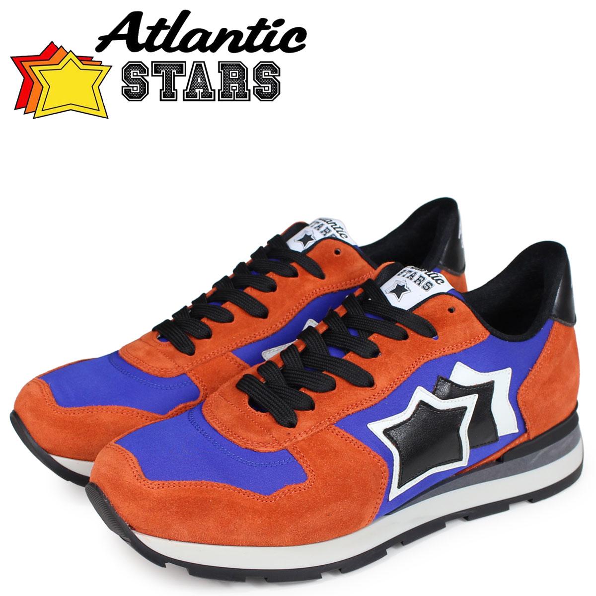 Atlantic STARS メンズ スニーカー アトランティックスターズ アンタレス ANTARES EAR-81N オレンジ