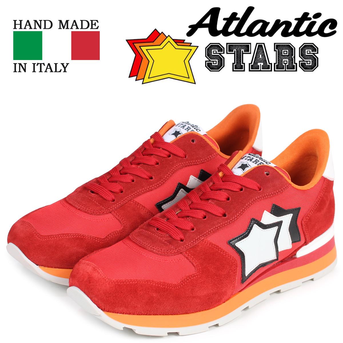 Atlantic STARS メンズ スニーカー アトランティックスターズ アンタレス ANTARES FR-85B レッド