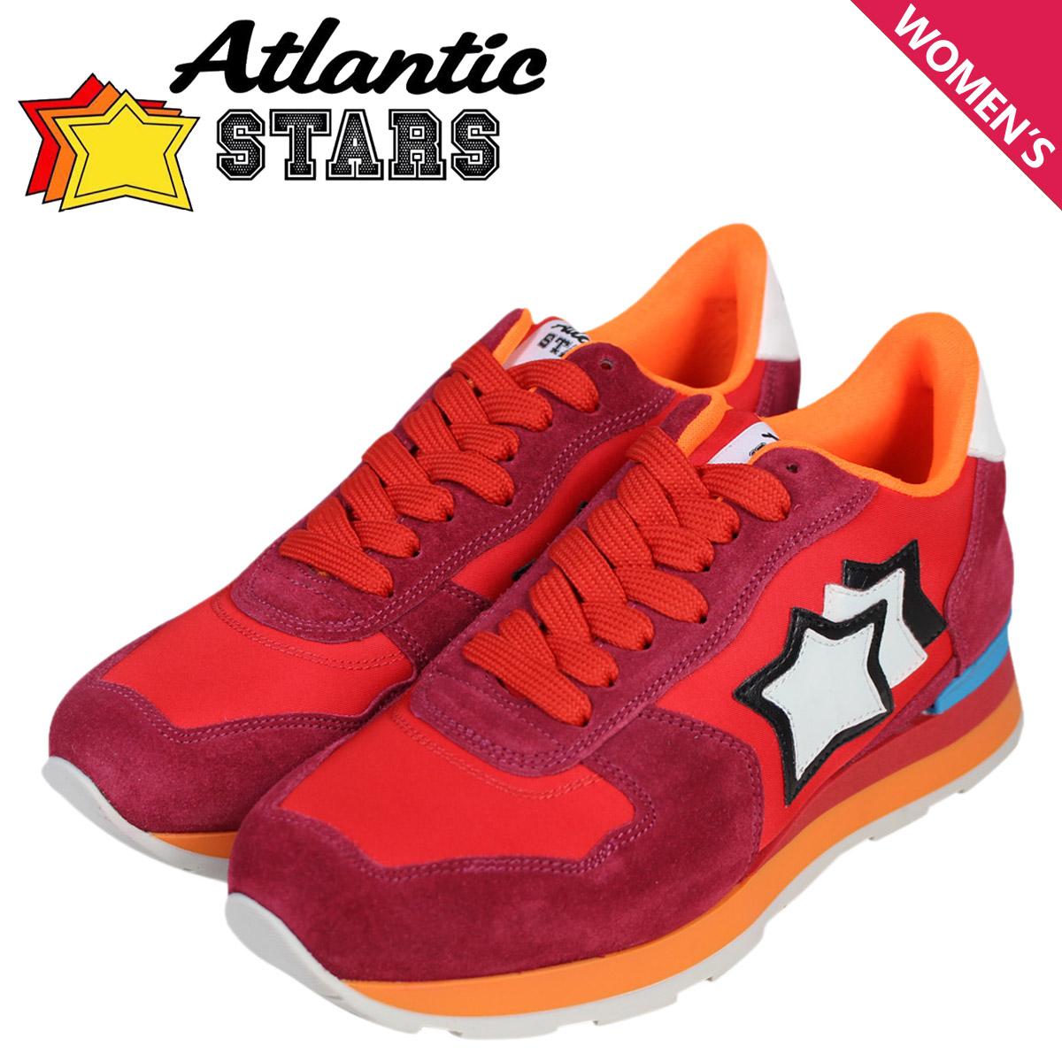 Atlantic STARS アトランティックスターズ スニーカー レディース ベガ VEGA レッド 赤 FRA-85C