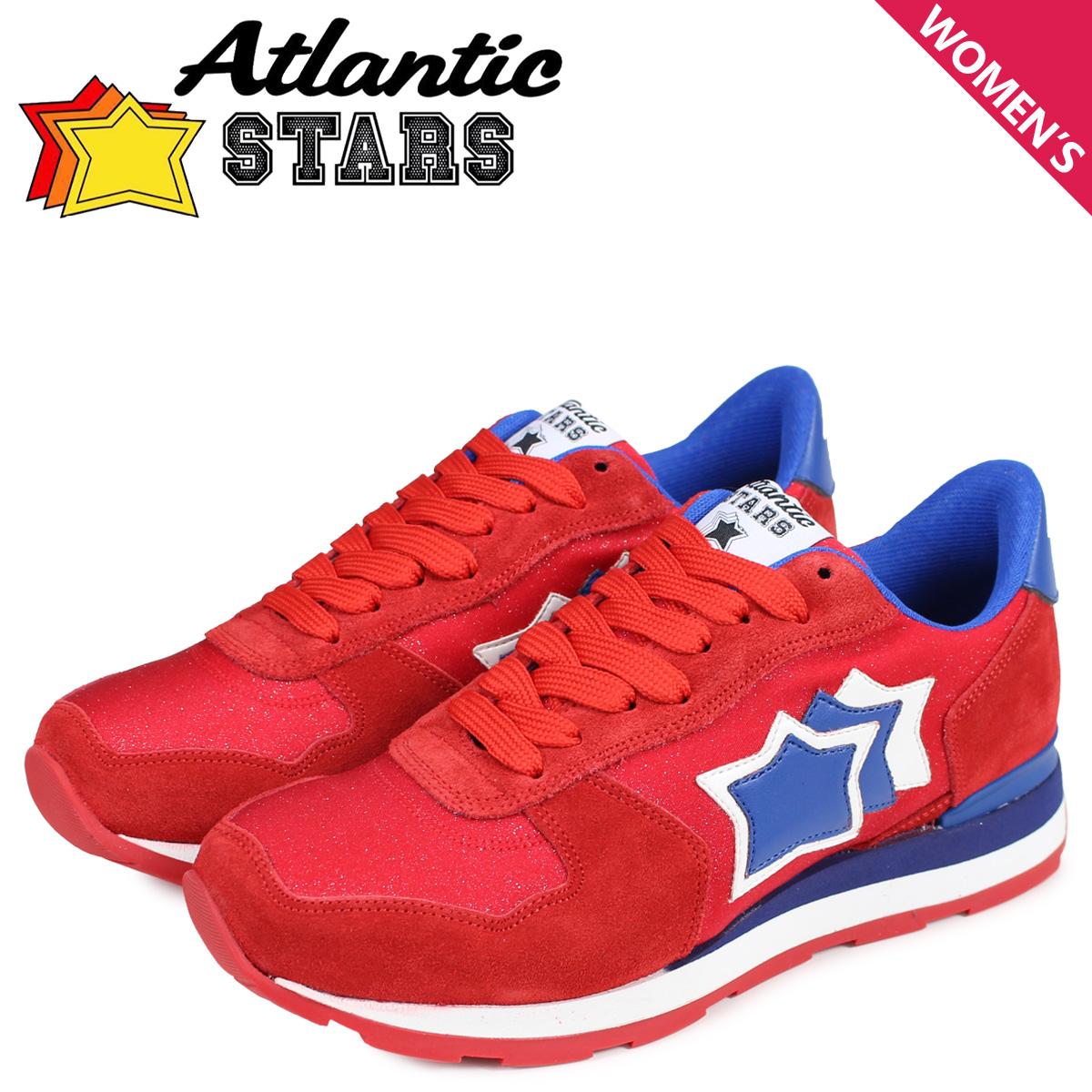 Atlantic STARS アトランティックスターズ ベガ スニーカー レディース VEGA レッド 赤 FUR-19A