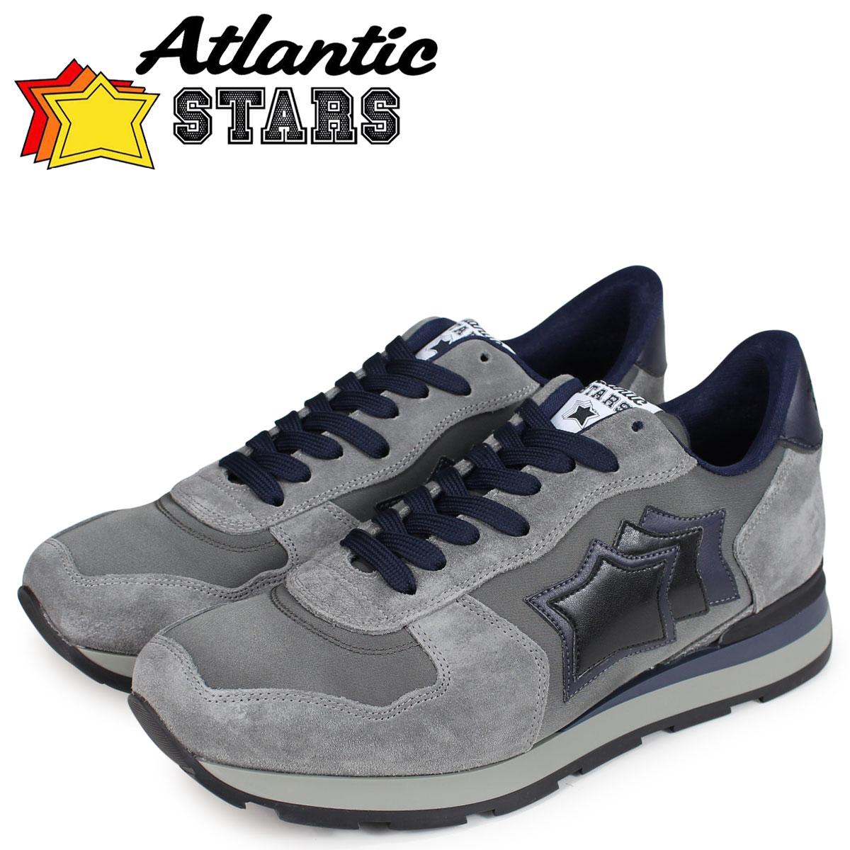 Atlantic STARS メンズ スニーカー アトランティックスターズ アンタレス ANTARES GA-06N グレー [10/16 新入荷]