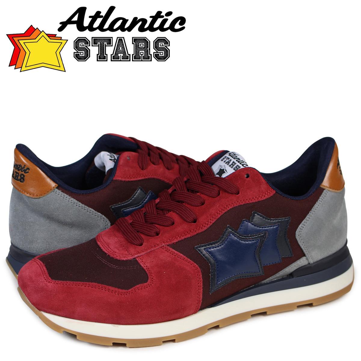 Atlantic STARS メンズ スニーカー アトランティックスターズ アンタレス ANTARES GGB-21NY 靴 バーガンディー