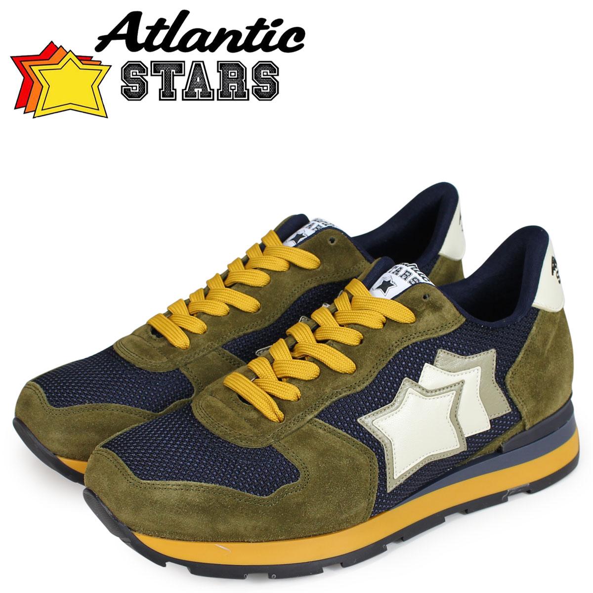 Atlantic STARS メンズ スニーカー アトランティックスターズ アンタレス ANTARES GMN-04NY ネイビー