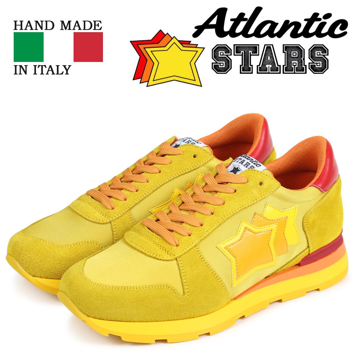 Atlantic STARS メンズ スニーカー アトランティックスターズ シリウス SIRIUS GS-46R イエロー 【決算セール 返品不可】