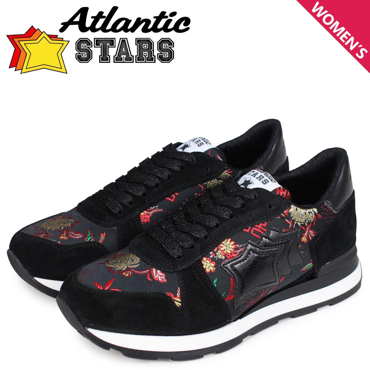 Atlantic STARS レディース スニーカー アトランティックスターズ ベガ VEGA HN-10N ブラック 黒