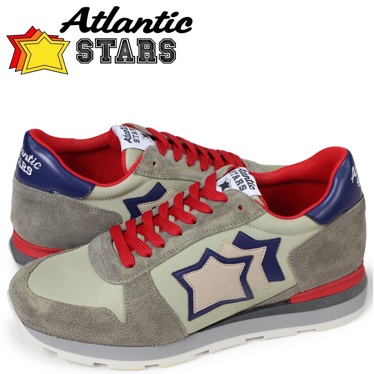 Atlantic STARS メンズ スニーカー アトランティックスターズ シリウス SIRIUS KS-63R グレー