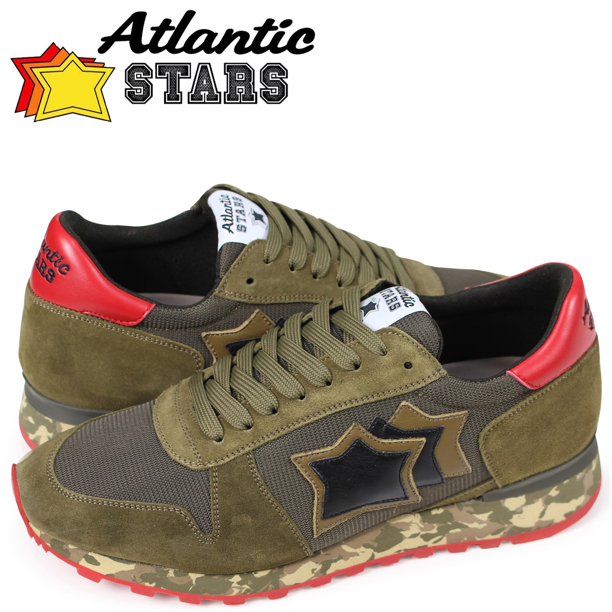 Atlantic STARS メンズ スニーカー アトランティックスターズ アルゴ ARGO MGNYRMMM ブラウン 【決算セール 返品不可】
