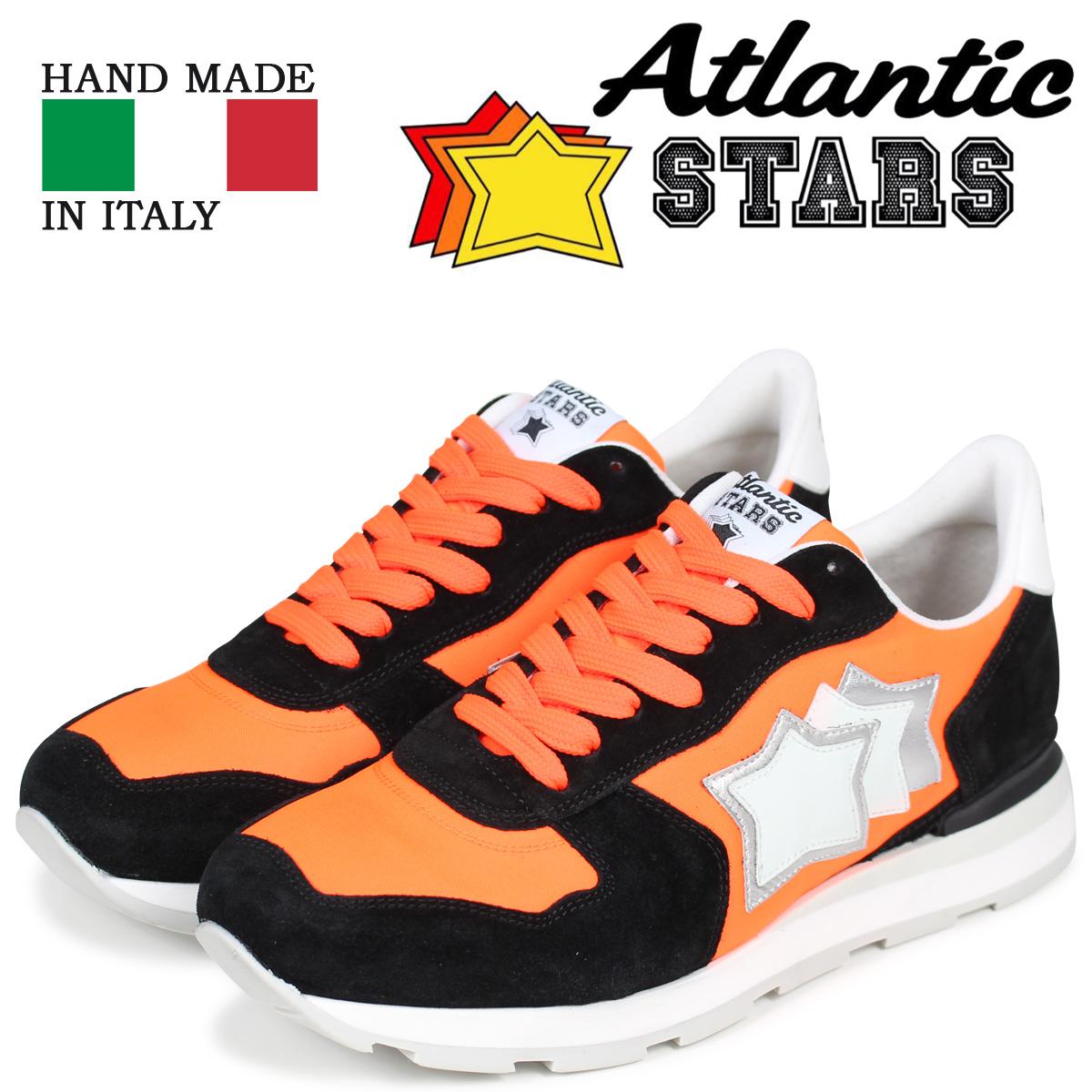 Atlantic STARS メンズ スニーカー アトランティックスターズ アンタレス ANTARES NAF-86N オレンジ
