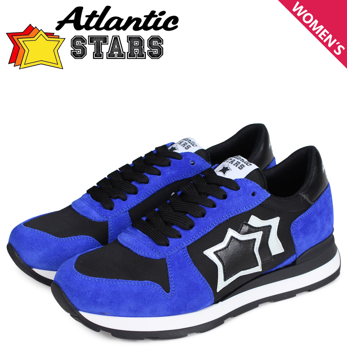 Atlantic STARS レディース スニーカー アトランティックスターズ ジェンマ GEMMA NF-10N ブルー