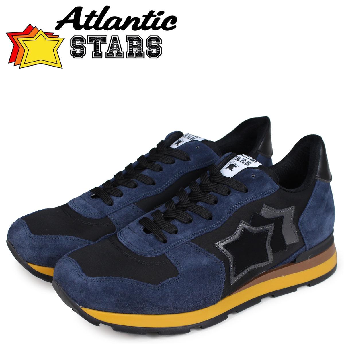 Atlantic STARS メンズ スニーカー アトランティックスターズ アンタレス ANTARES NHN-03N ブラック 黒