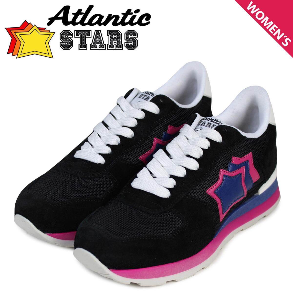 Atlantic STARS レディース スニーカー アトランティックスターズ ベガ VEGA NNF-62B 靴 ブラック 黒