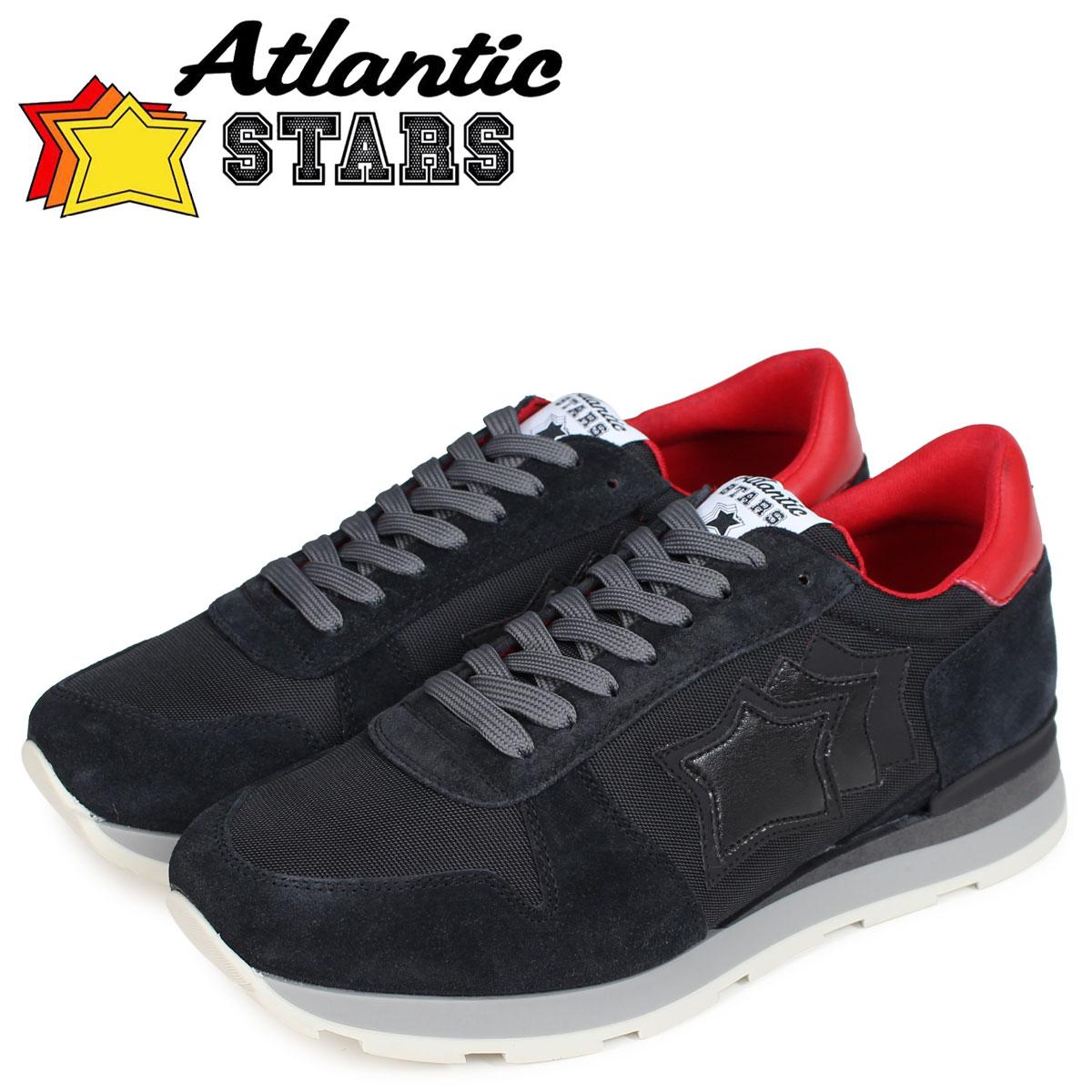 Atlantic STARS メンズ スニーカー アトランティックスターズ シリウス SIRIUS NOB-63N ブラック 黒