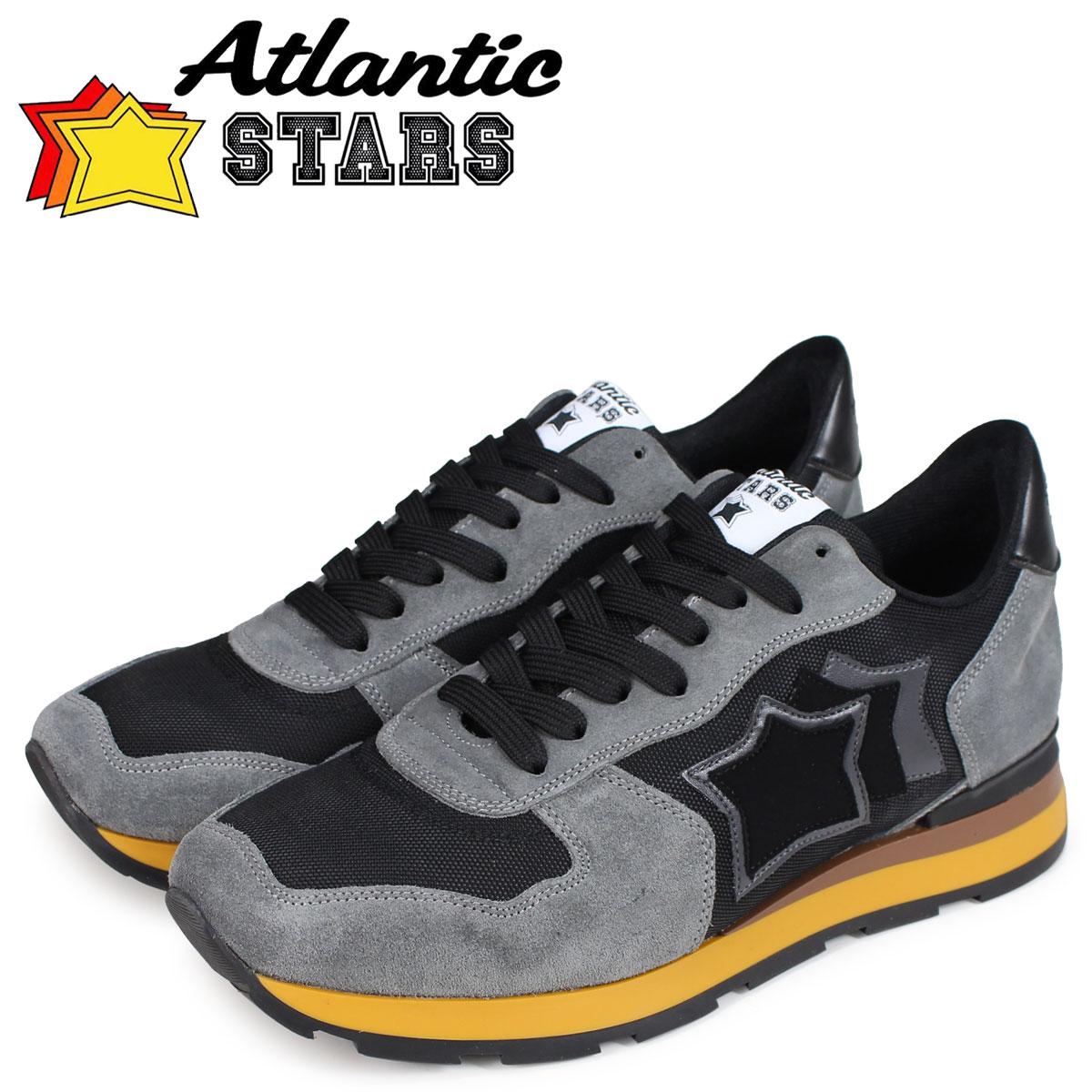 Atlantic STARS メンズ スニーカー アトランティックスターズ アンタレス ANTARES NPN-03N ブラック 黒