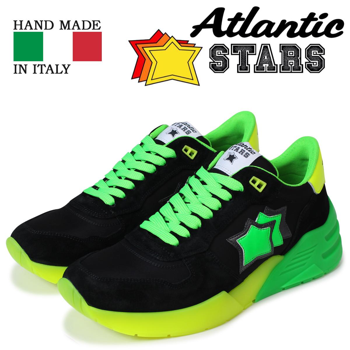 Atlantic STARS メンズ スニーカー アトランティックスターズ マーズ MARS NV-SN04 ブラック