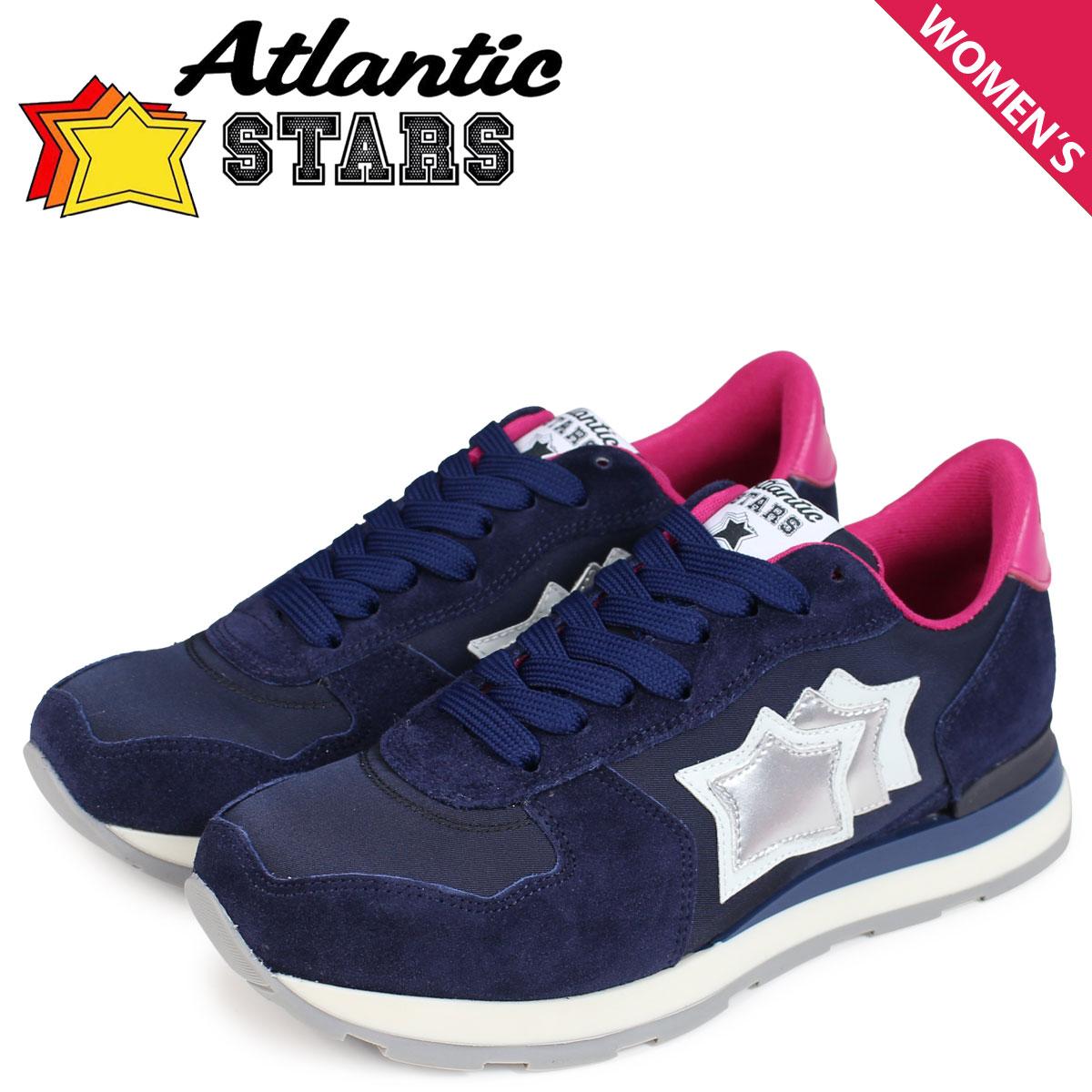【最大2000円OFFクーポン配布】 Atlantic STARS レディース スニーカー アトランティックスターズ ベガ VEGA NWF-09NY ネイビー