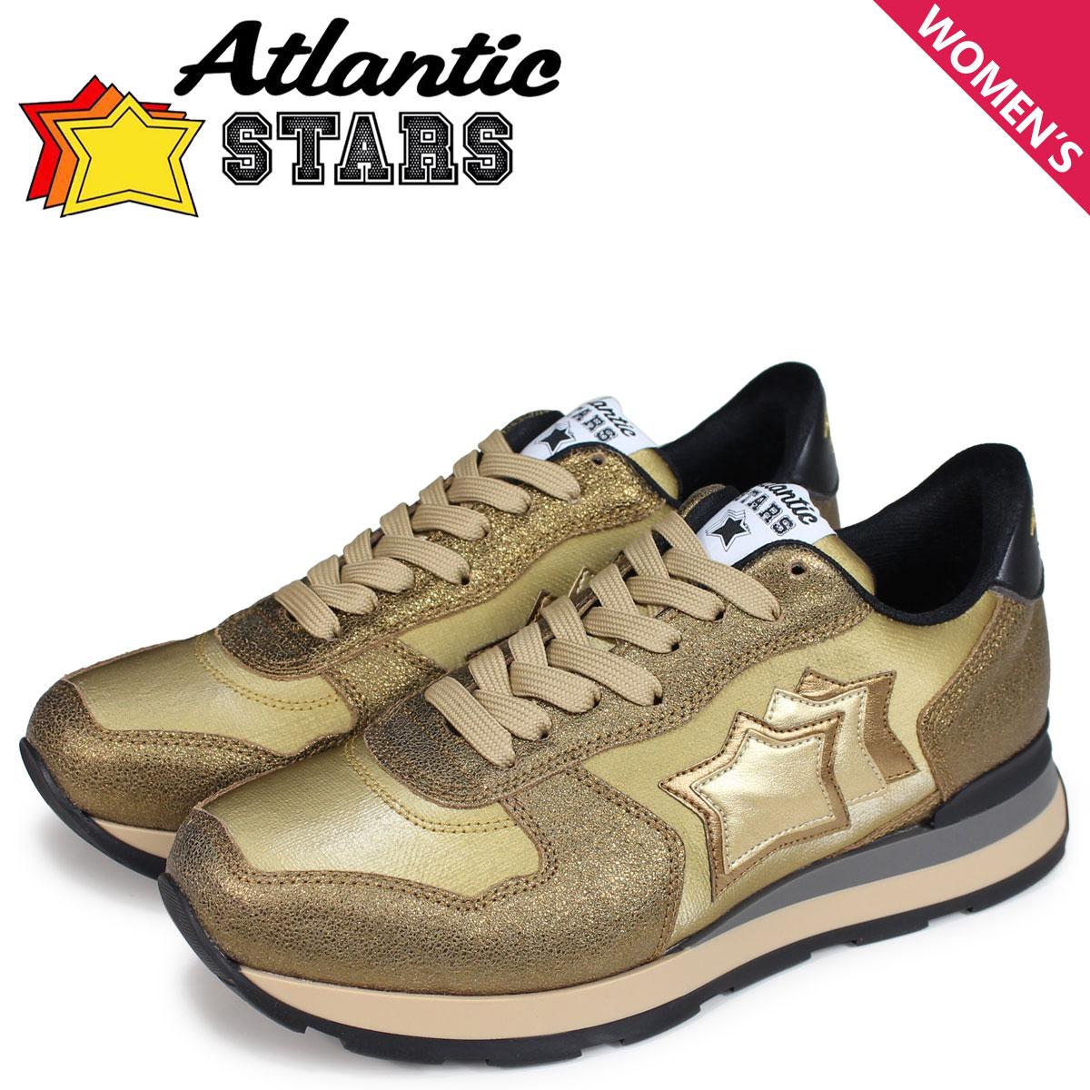 Atlantic STARS レディース スニーカー アトランティックスターズ ベガ VEGA OB-79N ゴールド [10/17 新入荷]