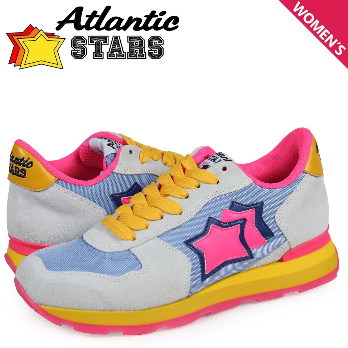 Atlantic STARS レディース スニーカー アトランティックスターズ ベガ VEGA OSF-22FF 靴 ホワイト