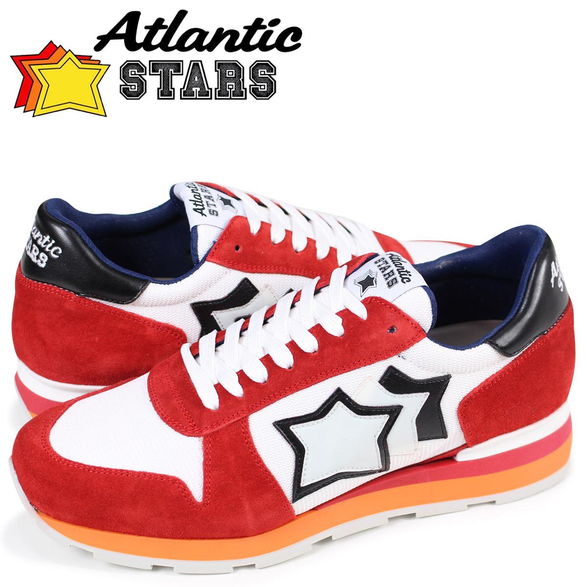 Atlantic STARS メンズ スニーカー アトランティックスターズシリウス SIRIUS RB-85B ホワイト
