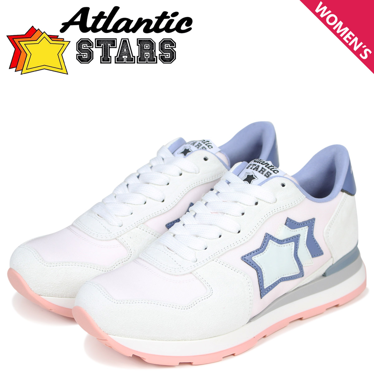 Atlantic STARS レディース スニーカー アトランティックスターズ ベガ VEGA RB29L グレー