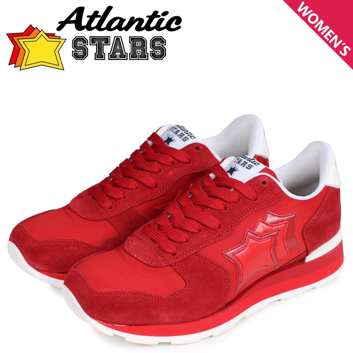 Atlantic STARS アトランティックスターズ ベガ スニーカー レディース VEGA レッド RBR-17B