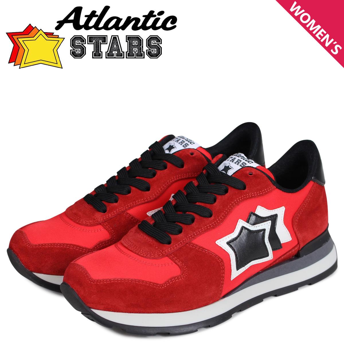 Atlantic STARS レディース スニーカー アトランティックスターズ ベガ VEGA RFN-81N レッド