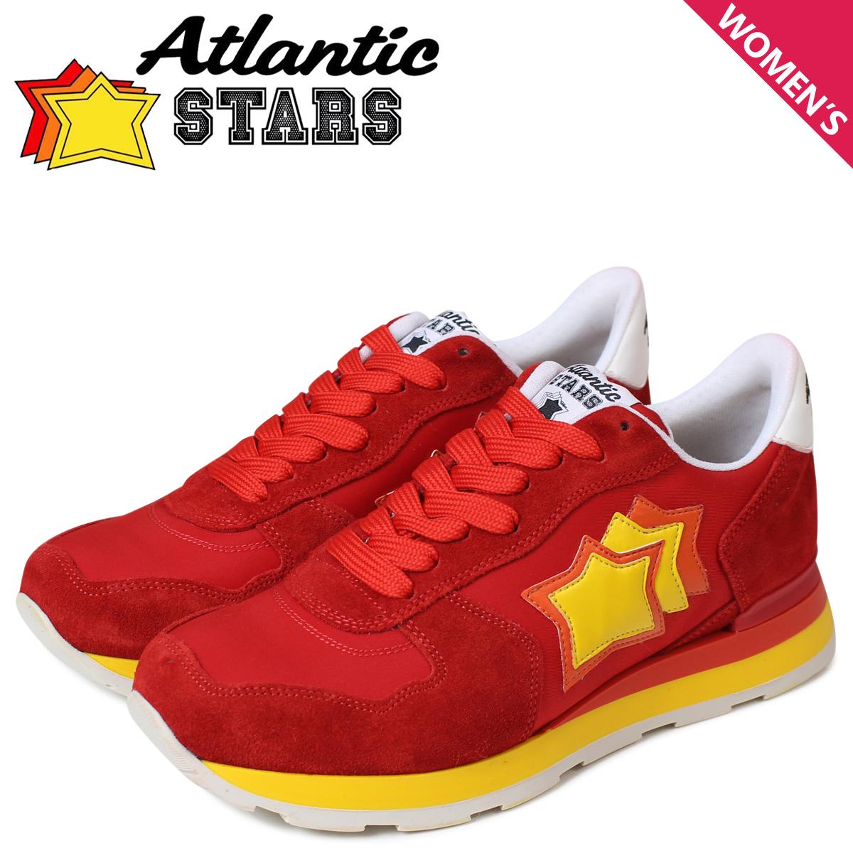 Atlantic STARS アトランティックスターズ スニーカー レディース ベガ VEGA レッド 赤 RR-27R