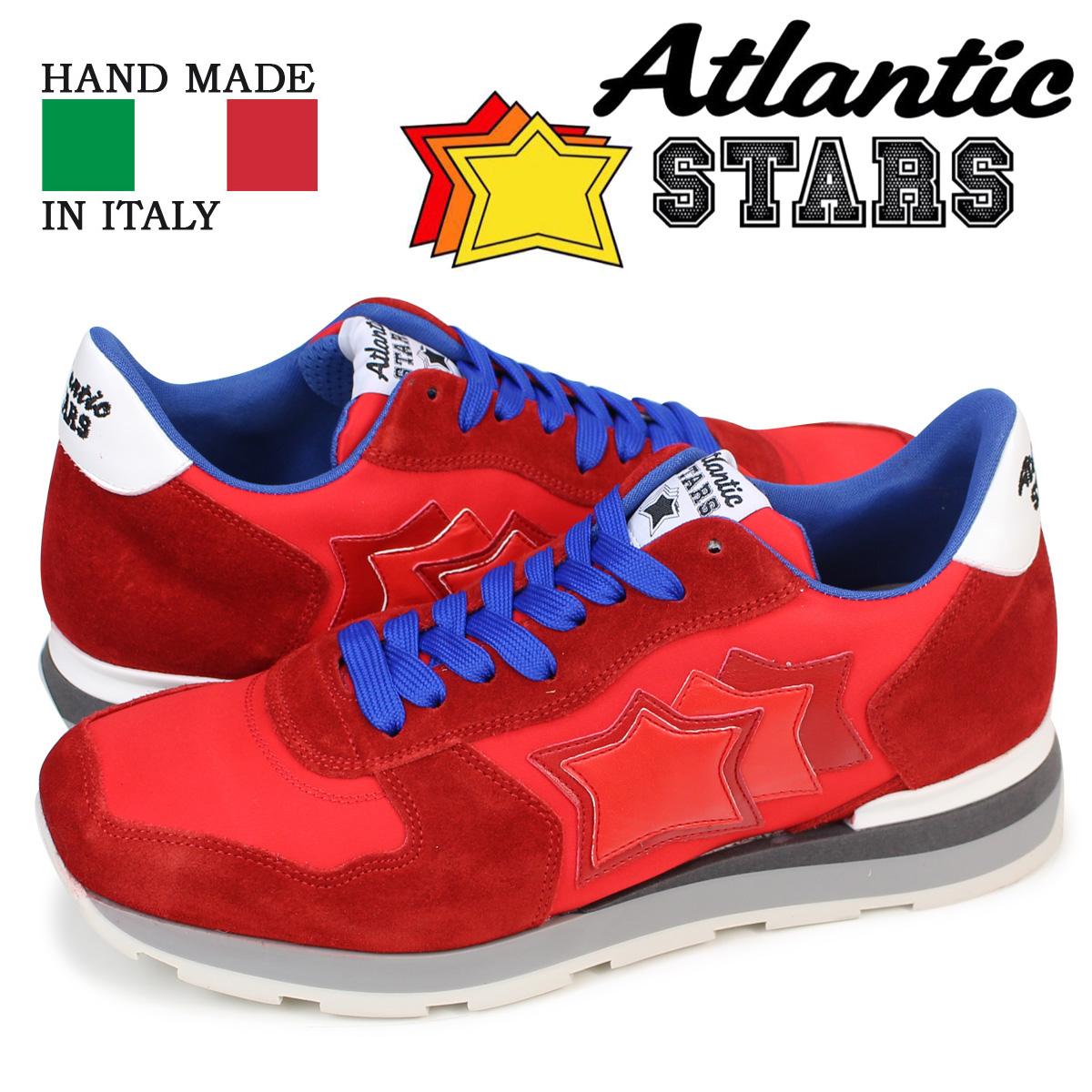 Atlantic STARS メンズ スニーカー アトランティックスターズ レッド アンタレス ANTARES RRA 63B 靴
