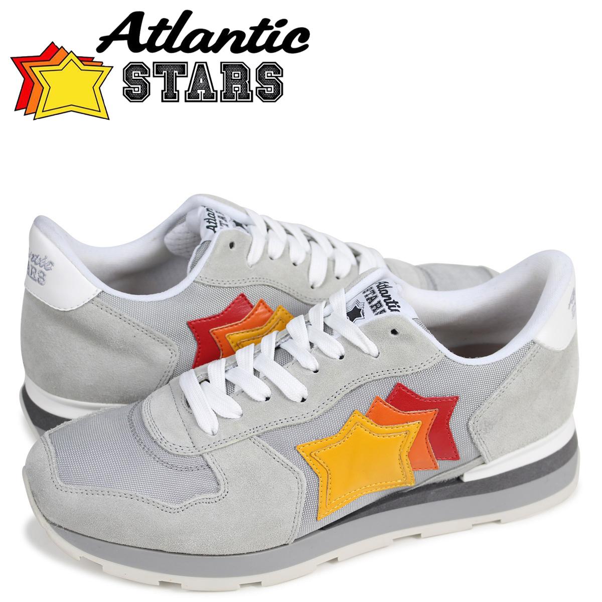 Atlantic STARS メンズ スニーカー アトランティックスターズアンタレス ANTARES SBB-63B グレー
