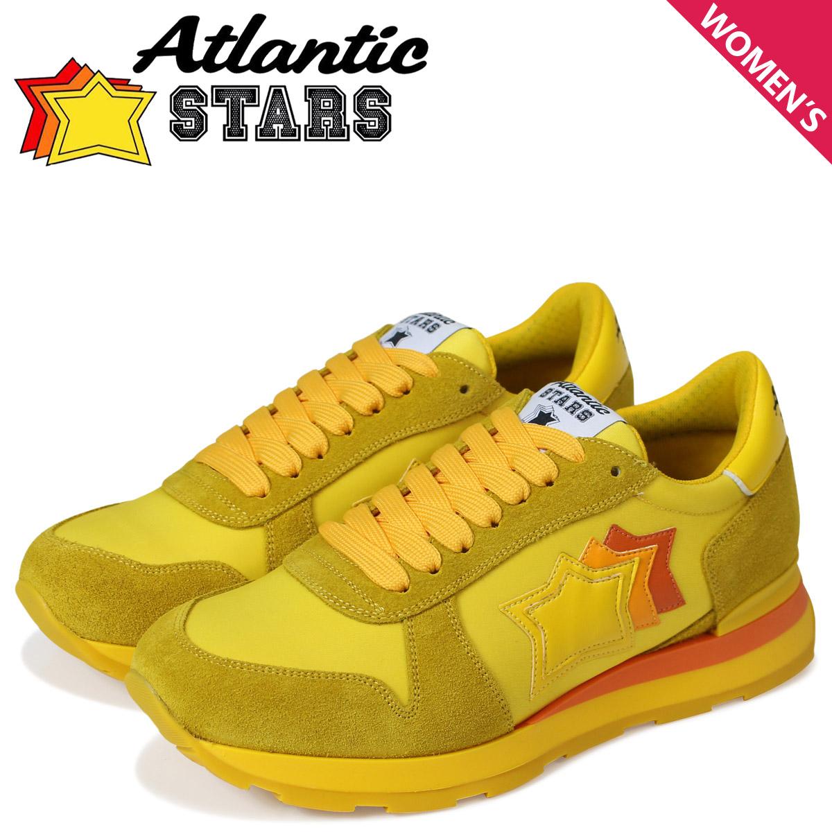 Atlantic STARS レディース スニーカー アトランティックスターズ ジェンマ GEMMA SG46O イエロー