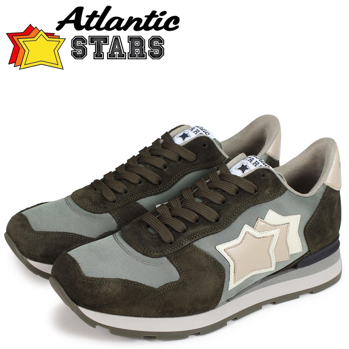 Atlantic STARS メンズ スニーカー アトランティックスターズ アンタレス ANTARES SMU-64N グリーン