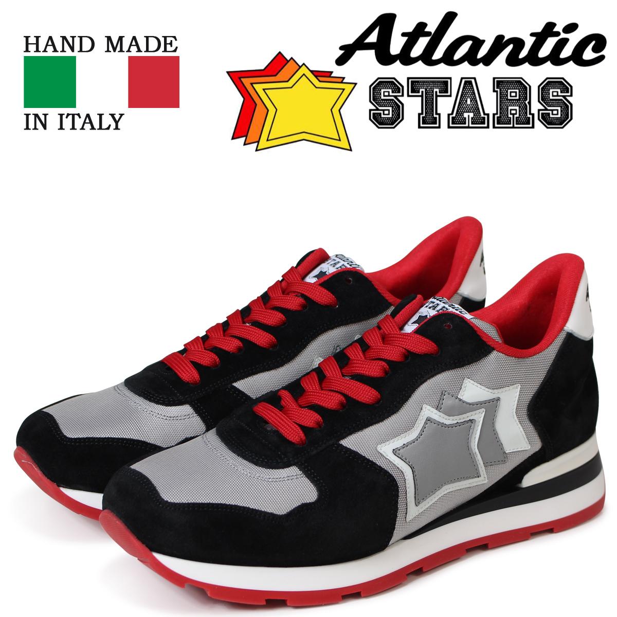 Atlantic STARS メンズ スニーカー アトランティックスターズ アンタレス ANTARES SN-26B ブラック 黒
