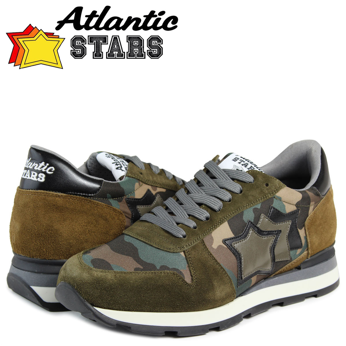 Atlantic STARS メンズ スニーカー アトランティックスターズ シリウス SIRIUS TH-81N 靴 カモ