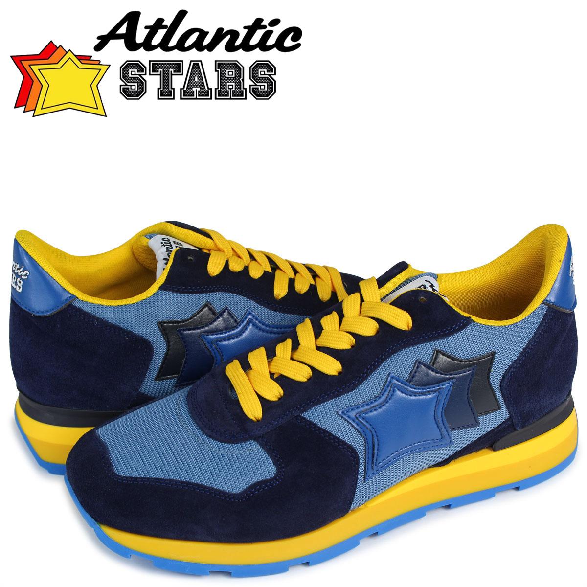 Atlantic STARS メンズ スニーカー アトランティックスターズ アンタレス ANTARES WAG-23NY 靴 ブルー