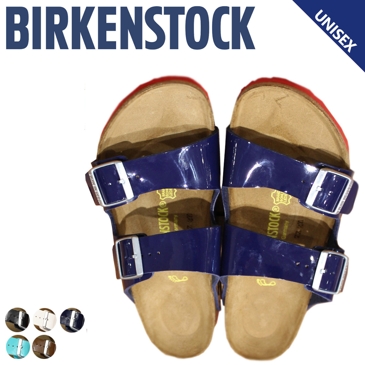 half off edc38 fdde1 Width synthetic leather usually thin BIRKENSTOCK アリゾナメンズレディースビルケンシュトック  ARIZONA building Ken sandals