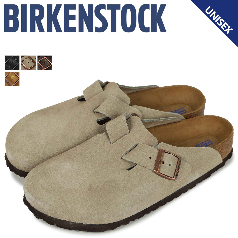 BIRKENSTOCK ビルケンシュトック ボストン サンダル メンズ レディース BOSTON ビルケン 細幅 普通幅 [3/11 追加入荷]