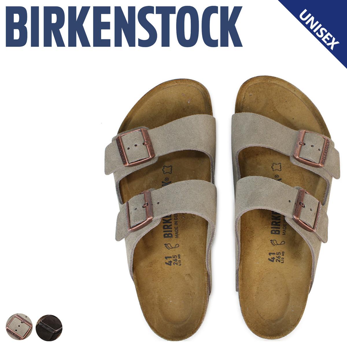 BIRKENSTOCK アリゾナ メンズ レディース ビルケンシュトック ARIZONA ビルケン サンダル 普通幅 細幅 スエード