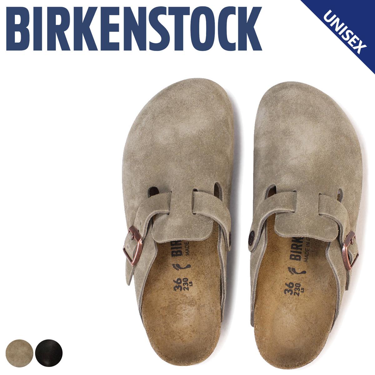 BIRKENSTOCK ボストン メンズ レディース ビルケンシュトック BOSTON ビルケン サンダル 細幅 普通幅 クロッグサンダル スエード