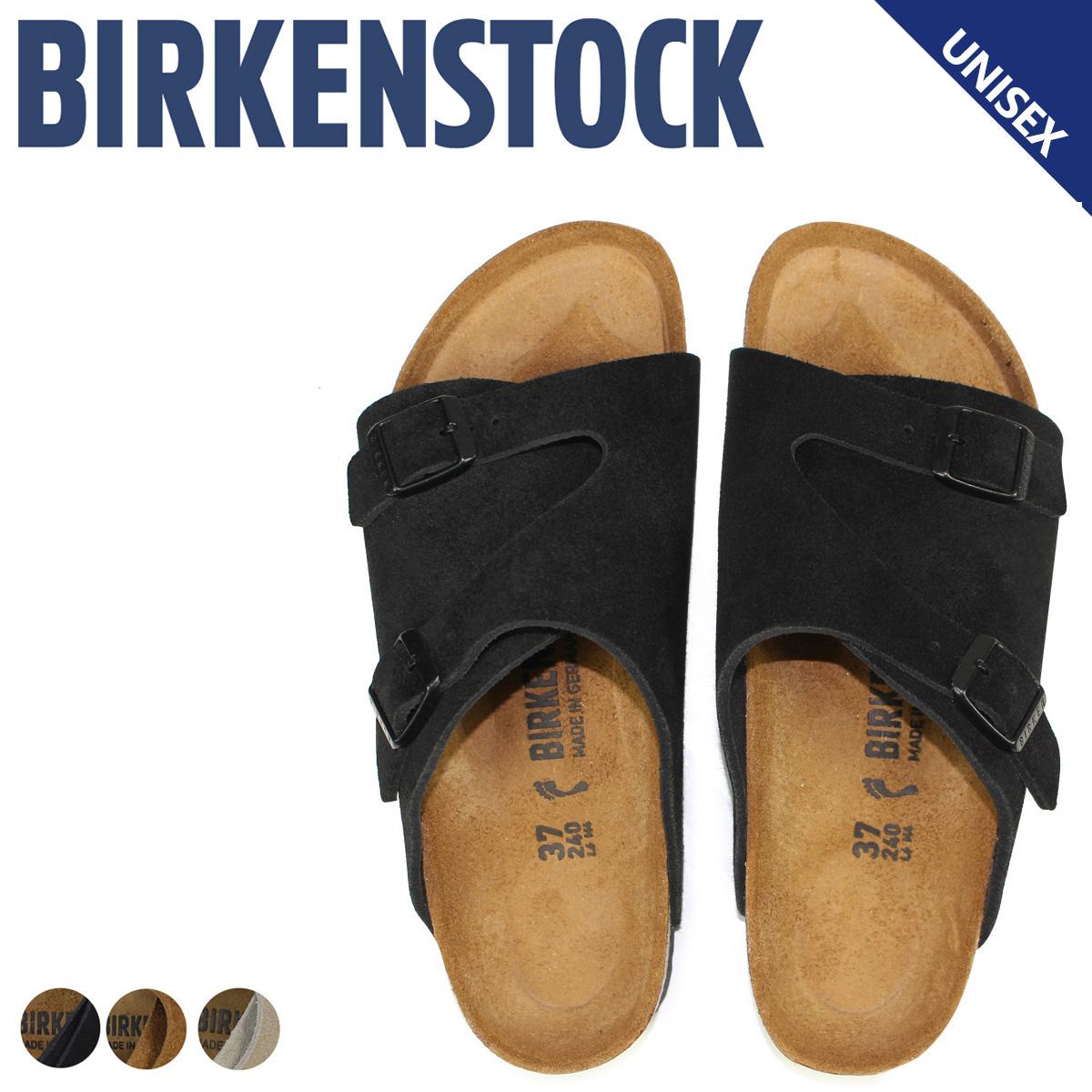 BIRKENSTOCK チューリッヒ メンズ レディース ビルケンシュトック ZURICH ビルケン サンダル 細幅