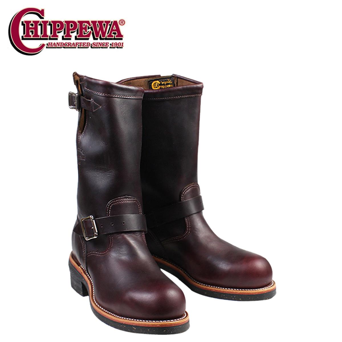 CHIPPEWA チペワ 11 INCH STEEL TOE ENGINEER ブーツ 11インチ スティールトゥ エンジニア ブーツ 1901M04 Eワイズ コードバン メンズ