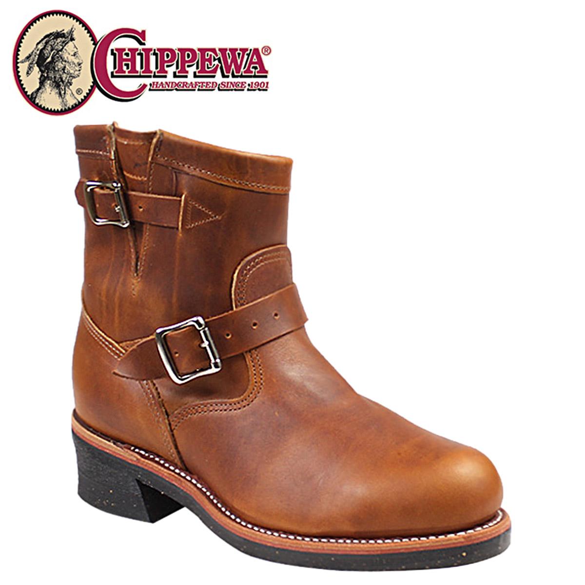 CHIPPEWA チペワ 7 INCH STEEL TOE ENGINEER ブーツ 7インチ スティールトゥ エンジニア ブーツ 1901M12 Eワイズ タン メンズ