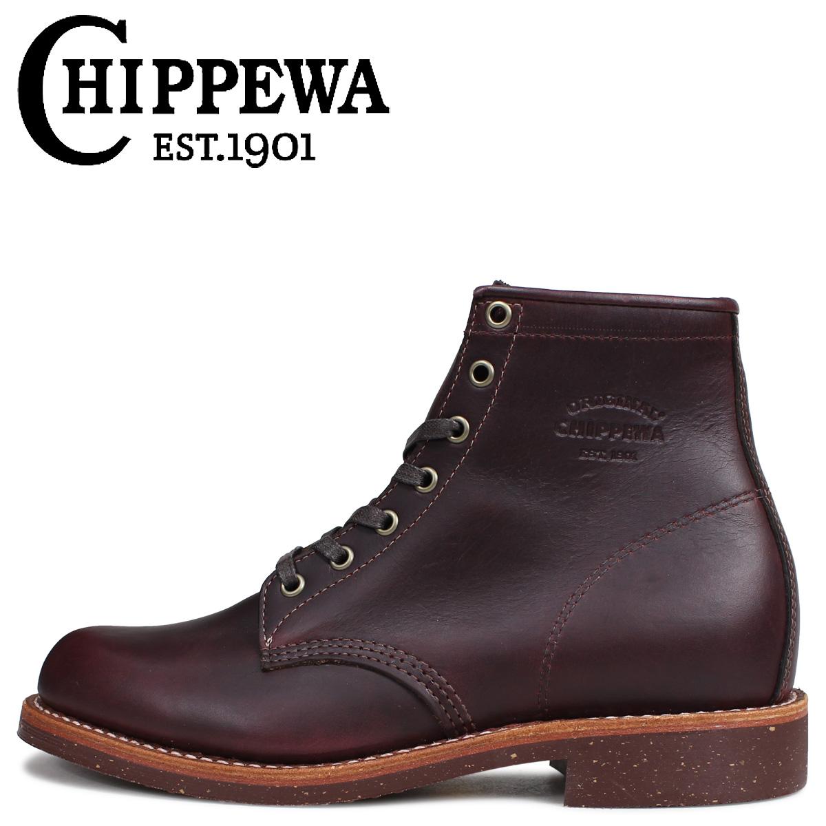 CHIPPEWA ブーツ 6インチ サービス チペワ 6INCH SERVICE BOOT 1901M25 Dワイズ コードバン メンズ [3/30 追加入荷]