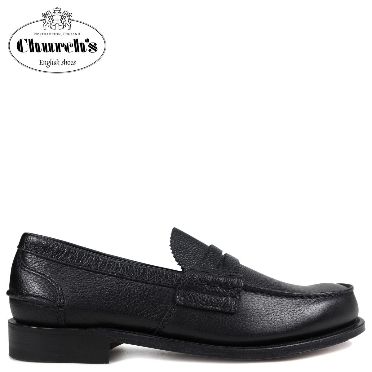 Church's 靴 チャーチ ローファー メンズ PEMBREY LOAFERS ブラック EDB003