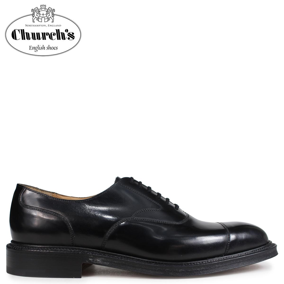 Church's チャーチ 靴 ランカスター 173 ストレートチップ メンズ LANCASTER 173 POLISHED BINDER EEB010 ブラック