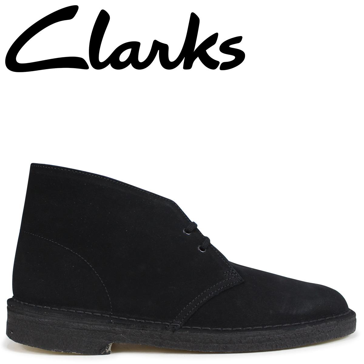 low priced fdd1b 91779 Point 2 x Clarks originals Clarks ORIGINALS desert boots DESERT BOOT G wise  suede mens 26107882 black  2 28 new in stock   regular