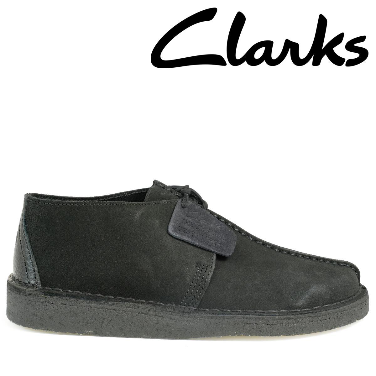 Clarks デザートトレック ブーツ クラークス メンズ DESERT TREK 26113258 靴 ブラック 黒